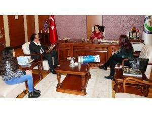 ASİMDER'den Rektör Attar'a Ziyaret