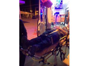 Fabrikada Yüksekten Düşen İşçi Yaralandı