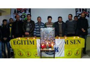 KESK Üyeleri Ankara'daki Saldırıyı Kınadı