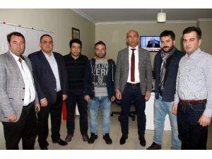 AK Partili İlçe Başkanı Uğur, İHA Çalışanlarının Gazeteciler Gününü Kutladı