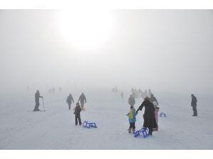 Muş Kayak Merkezi Cıvıl Cıvıl