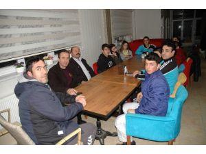 Sahil Bozkurt Judo Takımı Hanönü Belediye Başkanı Uçar'ı Ziyaret Etti