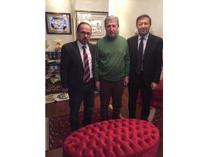 Avrupa Zonguldaklılar Derneği Başkanı Karakulak'tan Toptan'a Ziyaret
