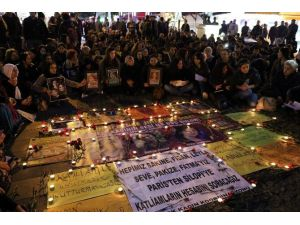 Paris'te Öldürülen 3 Kadın Anıldı