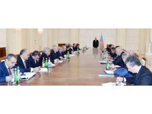 Aliyev: Rusya gerilimi sonrası, Türk tırları için kendi imkanlarımızı sunduk