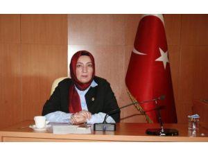 Kadın Kolları Başkanı Ertuğrul , Gazetecilerin Gününü Kutladı