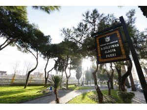 Gazeteci Alasya'nın Adı Parkta Yaşayacak