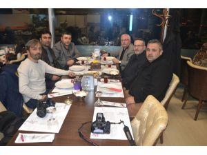 Havza'da idarecilerin ve gazetecilerin günü kutlandı