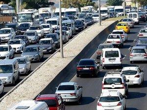 Trafiğe kayıtlı araç sayısı 19,8 milyonu geçti