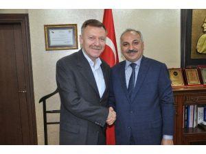 Milletvekili Atıcı'dan ESOB Başkanı Dinçer'e Ziyaret