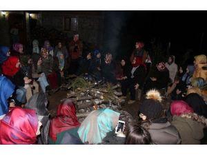 Öğrenciler Gençlik Kamplarında Stres Atıyor