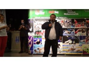 Rekortmen Halterci Naim Süleymanoğlu'na Erzurum'da Yoğun İlgi