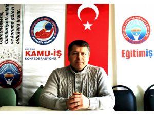 Kırşehir Eğitim-İş'ten Yurdugül: 2014 Tandoğan müdahalesi dönemin bir komplosu