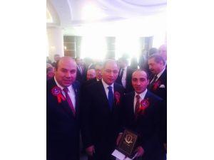 Yılın Kaymakamı Ferhat Atar, Ödülünü Aldı