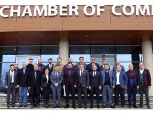 Kocaeli Trabzonlular Derneği, Koto Başkanını Ziyaret Etti