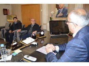 Madeni Eşya Ve Sanatkarları Odası'ndan Başkan Güler'e Ziyaret