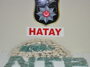 Hatay'da 240 Bin Adet Uyuşturucu Hap Ele Geçirildi