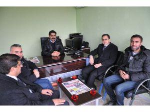 Kaymakam Sağ'dan, Gazetecilere Ziyaret
