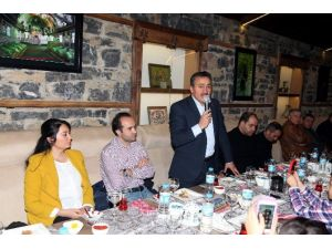 Başkan Tutal 10 Ocak'ta Basın Mensuplarıyla Buluştu
