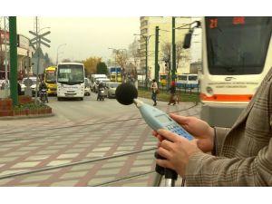 Gaziantep'in kara yolu kaynaklı gürültü haritası çıkarıldı
