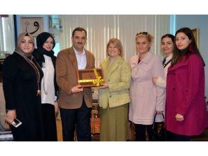 AK Parti Nilüfer İlçe Kadın Kollarından İHA'ya Ziyaret