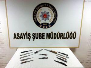 Samsun'da 1 Haftalık Emniyet Raporu