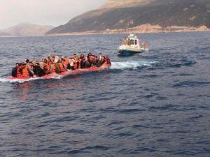 Antalya'da 62 Mülteci Yakalandı