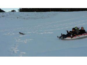 Eğriçimen Yaylasında Botla Kayak Keyfi