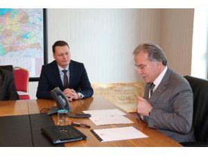 AK Parti Karabük Merkez İlçe Teşkilatından Şahin'e Ziyaret