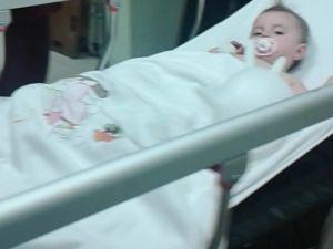 Pencereden Düşen Küçük Kız Yaralandı