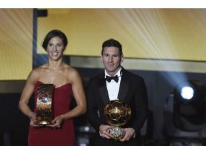 2015 FIFA Ballon D'or Messı'nin