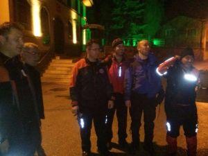 Uludağ'da Kaybolan İki Kişiye Sekiz Saat Sonra Ulaşıldı
