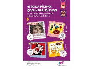 Forum Kayseri Çocuk Kulübü 3. Yılında Daha Da Renkli
