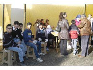 Malkara'da Okul Yararına 'Mekik Kermesi' Düzenlendi