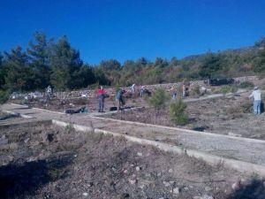 Alanya'da 100 Mezarlığa Bakım Yapıldı