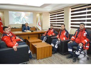 Afyon UKEME, Şırnak'ta yararlı askerlere sağlık hizmeti sundu