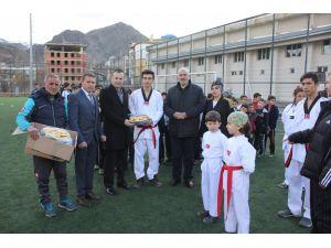 Erzurum'da çocuklar tatili spor yaparak geçirecek
