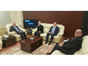 Vekil Kırcı'nın Gündemi Onyedi Eylül Üniversitesi