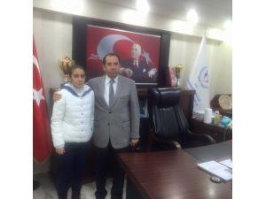 Milli Sporcu Tuba Gür'den Mehmet Demir'e Ziyaret