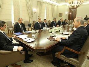 Çankaya Köşkü'ndeki güvenlik toplantısı sona erdi