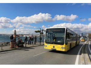 Metrobüse Alternatif Üç Otobüs Hattı