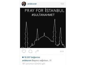 Arda Turan'dan Sultanahmet Paylaşımı