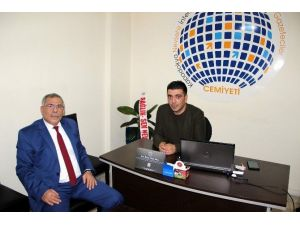 Uçhisar Belediye Başkanı Karaaslan Kapimed Cemiyetini Ziyaret Etti