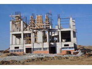 Sorgun TOKİ Konutları Yeni Cami İnşaatı Sürüyor