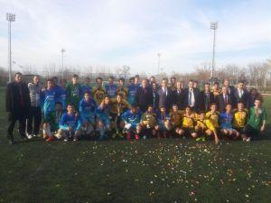 Genç Erkekler Futbol Turnuvasında Şampiyon 1. Murat Anadolu Lisesi Oldu