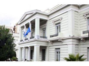 Yunan Dışişleri Bakanlığı: Canlı bombalı saldırıyı şiddetle kınıyoruz