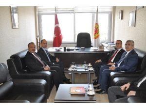AK Parti Milletvekilleri, İGM Başkanını Ziyaret Etti