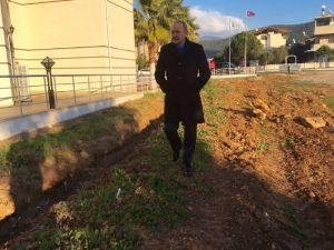 Başkan Atabay Akbük'teki Çalışmaları İnceledi