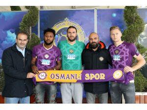 Osmanlıspor'dan 3 mevkiye 3 imza