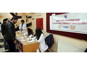 Gaziantep Üniversitesi'nde Organ Bağışı Bilgilendirmesi